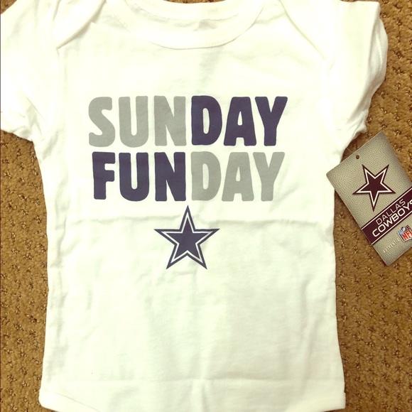 5cad31aef89c7 NFL Shirts & Tops   Nwt Dallas Cowboys Onesie   Poshmark
